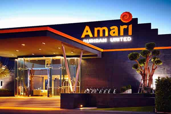 อมารี บุรีรัมย์ ยูไนเต็ด โรงแรมสำหรับคอบอลที่ต้องไปพักให้ได้สักครั้ง จังหวัด บุรีรัมย์